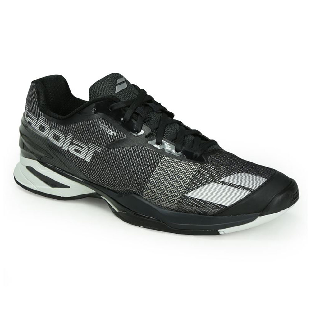d07503b36868d Babolat Jet All Court (Black/White) Men's Tennis Shoes