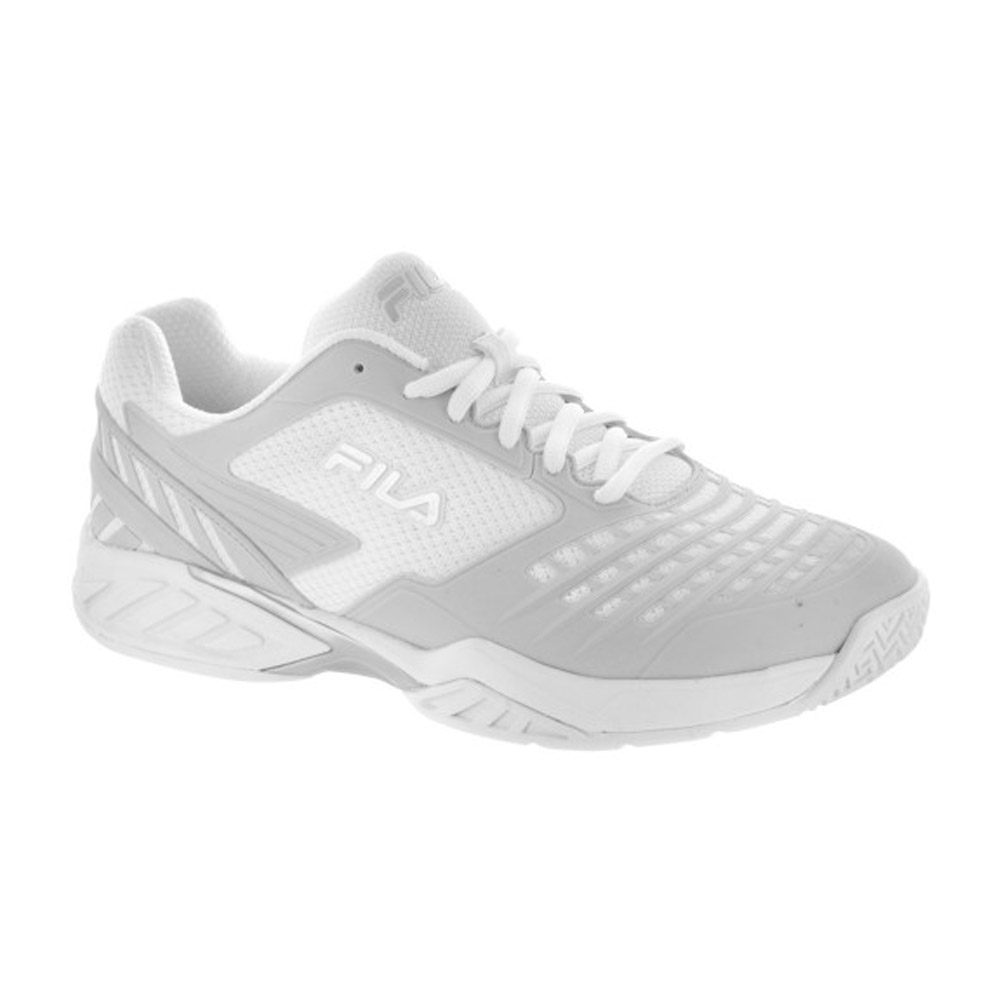 Fila Axilus Energized (White/Silver) Women's Tennis Shoes