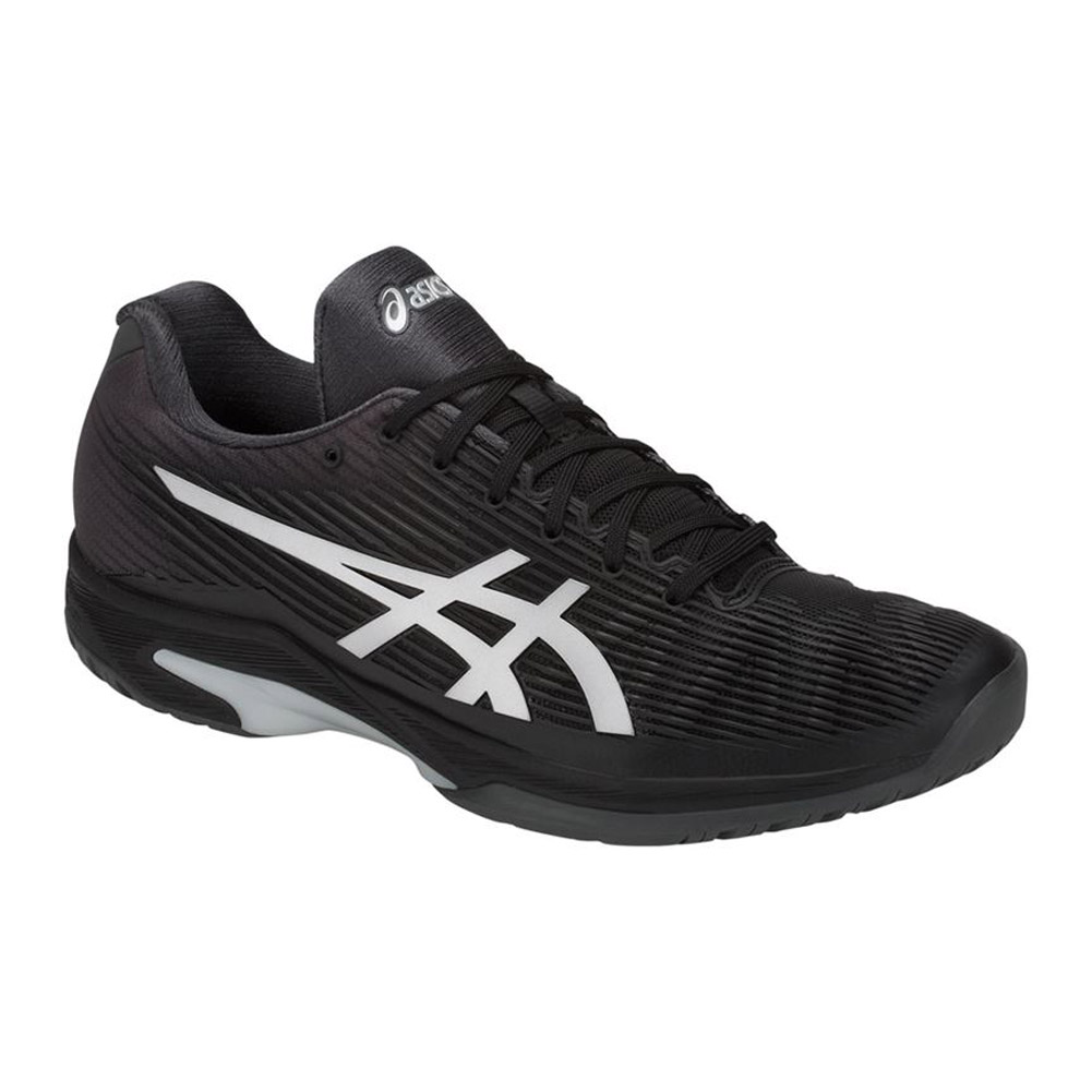 asics gel mens running shoes black