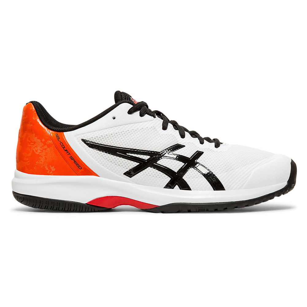 SpeedwhiteblackMen's Gel Court Tennis Asics Shoes l1JTKFc